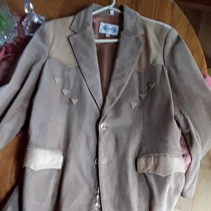 Vintage sculley leather coat